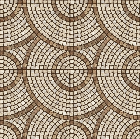 smooth stones: Brown marble-stone mosaic texture   High res   Stock Photo