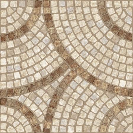 piso piedra: Brown de piedra de mármol del mosaico de textura de alta resolución