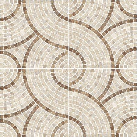 pavimento gres: Brown marmo-pietra mosaico struttura Alta risoluzione