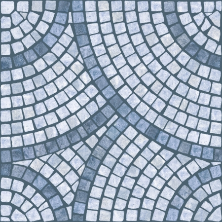 tile grout: Blue marble-stone mosaic texture   High res