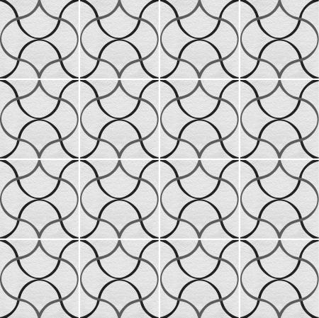 shiny floor: Black-White marble-stone mosaic texture   High res   Stock Photo