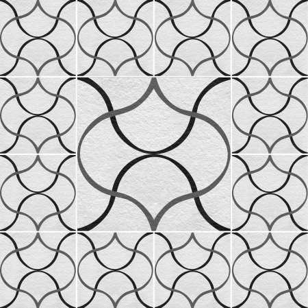 tile grout: Black-White marble-stone mosaic texture   High res   Stock Photo