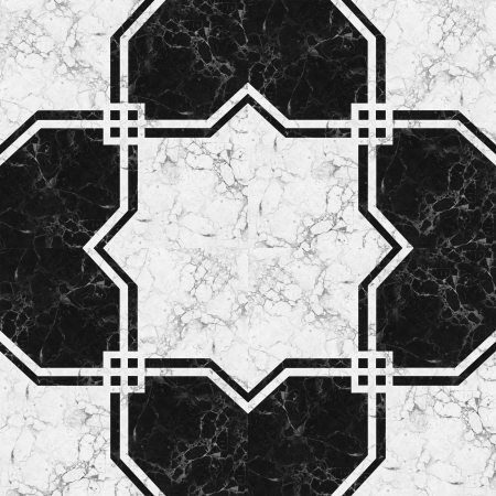 Black white marble-stone mosaic texture   High res   photo
