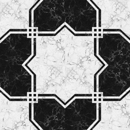 Black white marble-stone mosaic texture   High res Stock Photo - 16102905