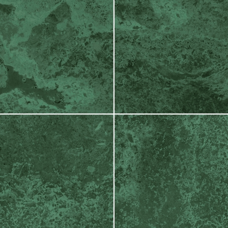 Four green marble texture  High resolution   photo