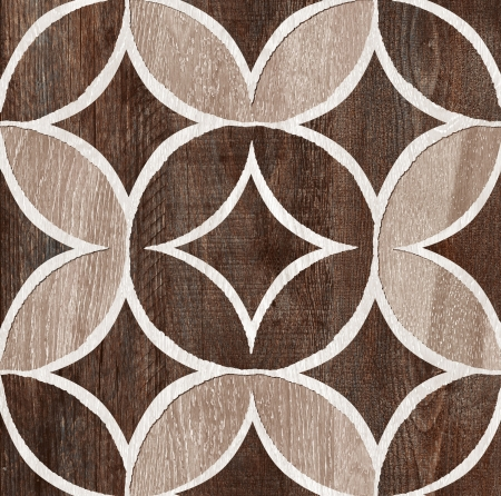 Dark Brown Wood Decor Texture photo