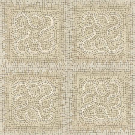 piso piedra: Marrón mármol textura de piedra de mosaico. (Alta resolución.)