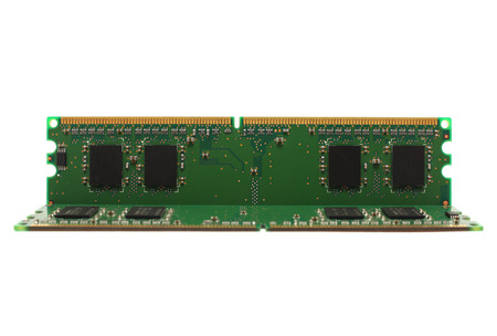 ddr3: The RAM on a white background