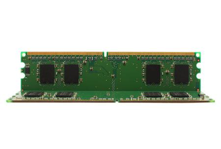 megabytes: The RAM on a white background