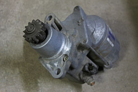 removed: Starter removed from Japan car