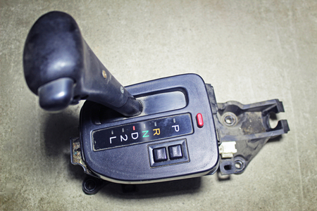 selector: Selector lever of the automatic transmission