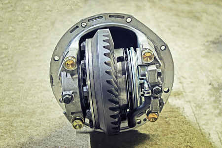 gear handle: Front reduction gear from a Japanese car