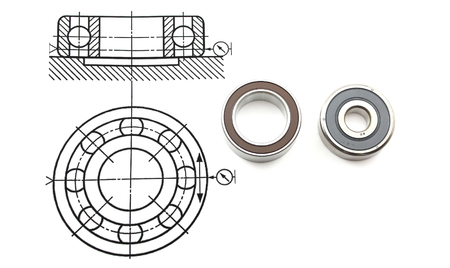 bearing: Drawing with the bearing