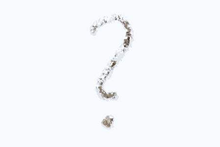 whose: Question mark