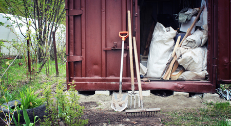agricultural tools: Garden tools for agricultural work