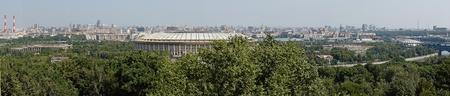 panorama of moscow stadium Stock Photo - 10338812