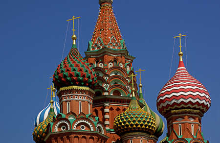 st. basil cathedral in moscow photo