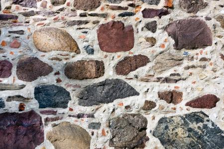 clinker: Stone wall Stock Photo