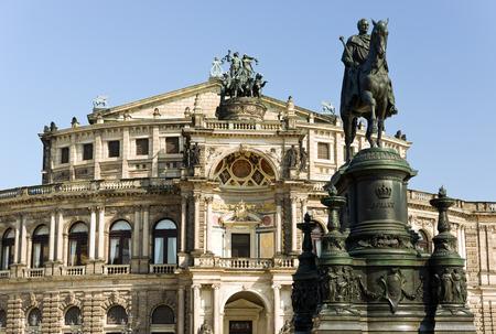 culturally: Semper-opera house in dresden