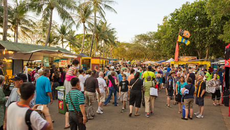 the Mindil Beach Market in darwin