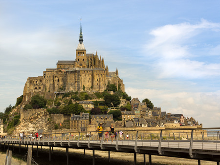 Mt St Michel in france