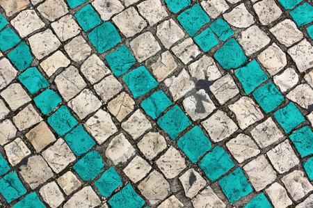 paving: colorized paving stones