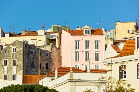 gibel: Facades in the city of Lisbon
