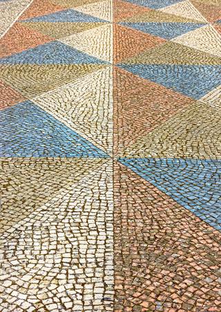colorized: colorized paving stones