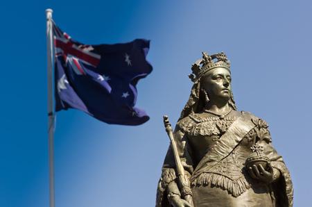 queen victoria: Queen Victoria Monument in Adelaide