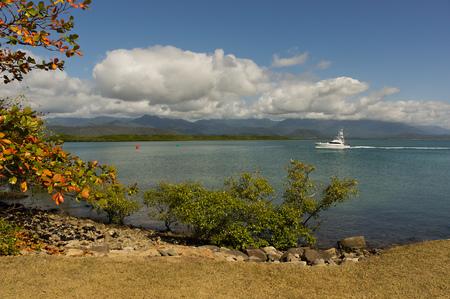 port douglas: Coast at Port Douglas Queensland, Australia Stock Photo