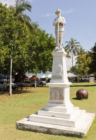 port douglas: Monument in Port Douglas, Australia