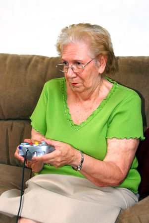 Grandmother Playing Stock Photo - 5437972