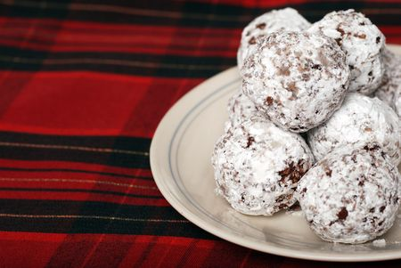 baked: baked chocolate coconut snowballs