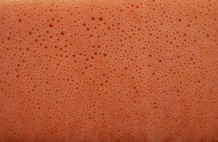Chocolate milk bubbles photo