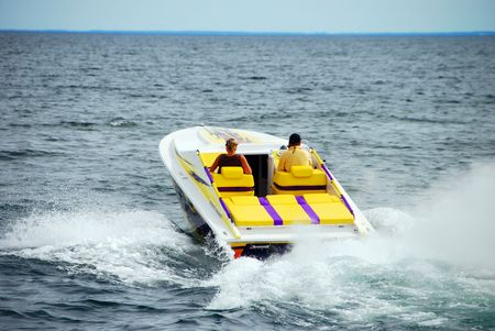 Power Boating Stock Photo - 5531684