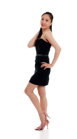 philippino:   young female asian woman Stock Photo