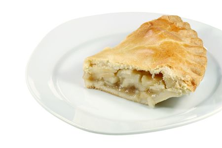 Apple Pie on a plate photo