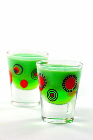 shooters: Lime Jello Shooters