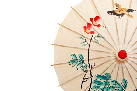 Oriental umbrella photo