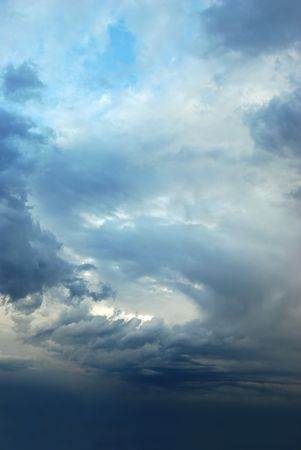 cloudy moody: Sky after a storm