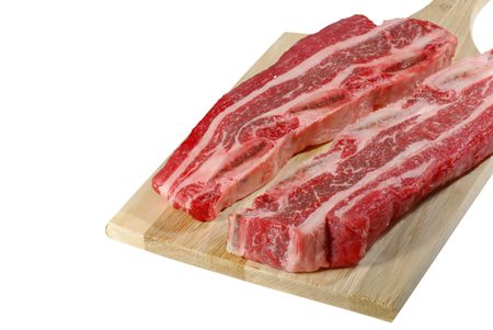 Short ribs on a cutting board Stock Photo - 5799287