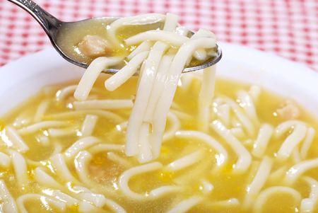close-up lepel chicken noodle lepel
