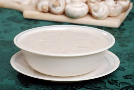 cream of mushroom soup photo