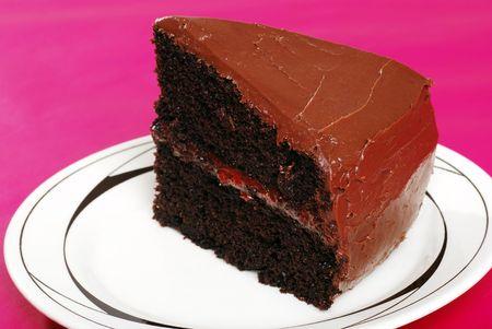 double chocolate cake photo