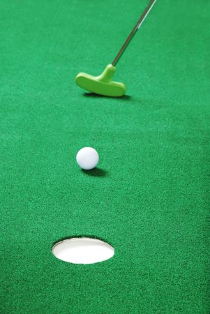 practice putting photo