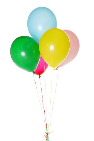 colorful party ballons