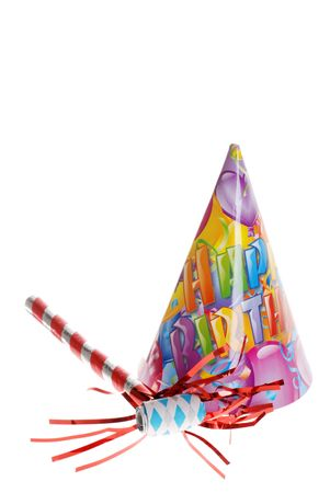 new age: Birthday Party Hat And Horn