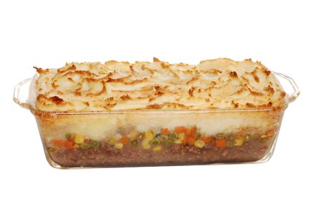 shepards: Hot Homemade Shepards Pie Stock Photo