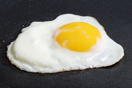 Sunnyside Up Fried Egg Stock Photo - 6369775
