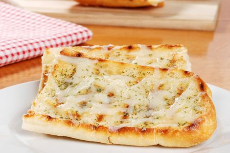 garlic bread with cheese photo